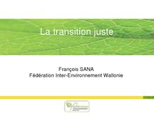Présentation de François Sana